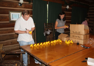 numbering the ducks
